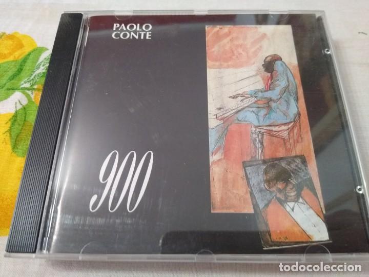 PAOLO CONTE- CD 900- 13 TEMAS DE PAOLO CONTE CD IMPORTADO (Música - CD's World Music)