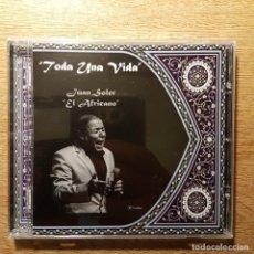 CDs de Música: CD COPLA CANCIÓN ESPAÑOLA. JUAN SOLER EL AFRICANO. Lote 209967203