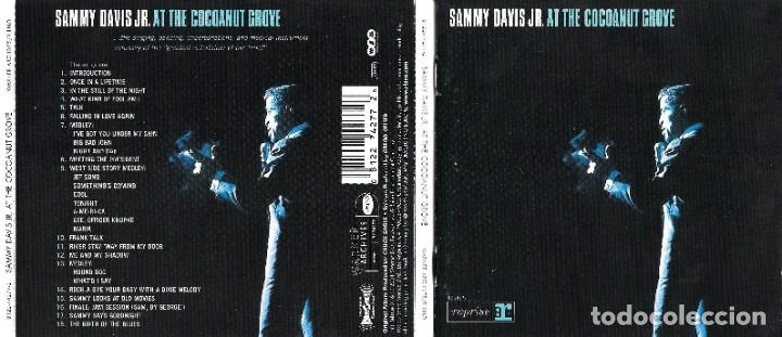 CDs de Música: SAMMY DAVIS JR. AT THE COCOANUT GROVE - Foto 1 - 210003275