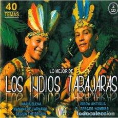 CDs de Música: LOS INDIOS TABAJARAS - LO MEJOR 40 TEMAS. Lote 210005725