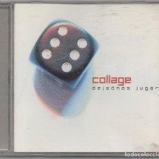 CDs de Música: COLLAGE - DEJADNOS JUGAR / CD ALBUM DEL 2001 / MUY BUEN ESTADO RF-6486. Lote 210030192