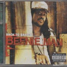 CDs de Música: BEENIE MAN - BACK TO BASICS / CD ALBUM DEL 2004 / MUY BUEN ESTADO RF-6487. Lote 210030270