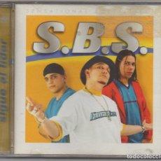 CDs de Música: S.B.S. - SIGUE AL LIDER / CD ALBUM / MUY BUEN ESTADO RF-6492. Lote 210030648