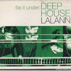 CDs de Música: DEEP HOUSE - LALANN / DIGIAPCK CD ALBUM DEL 2003 / MUY BUEN ESTADO RF-6493. Lote 210030708