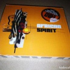 CDs de Música: AFRICAN SPIRIT CD PRECINTADO 2005 11 TEMAS CECILIA BLANCO LA DECADA PRODIGIOSA. Lote 210035936