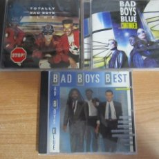 CDs de Música: LOTE 3 CD BAD BOYS BLUE ...CONTINUED BAD BOYS BEST TOTALLY. Lote 210038750