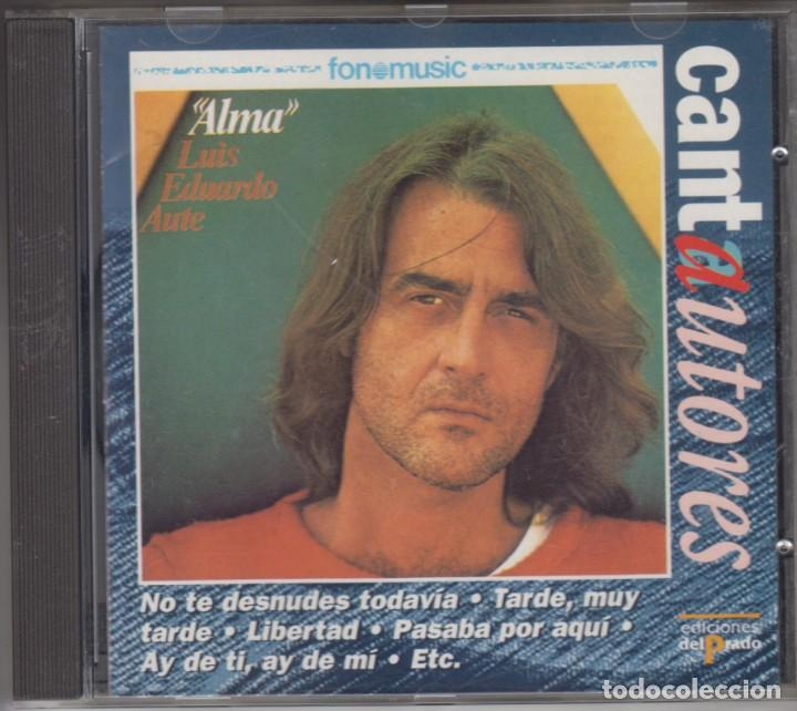 LUIS EDUARDO AUTE CD ALMA 1996 SERIE CANTAUTORES (Música - CD's Pop)