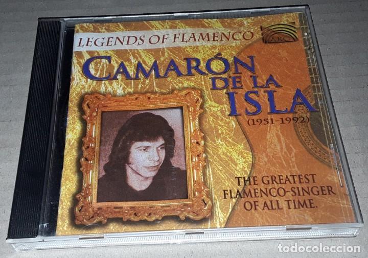 CD - CAMARON DE LA ISLA - LEGENDS OF FLAMENCO - CAMARON (Música - CD's Flamenco, Canción española y Cuplé)