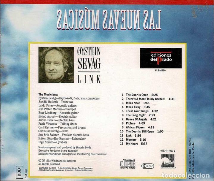 CDs de Música: Oystein Sevag - Link. CD - Foto 2 - 210040510