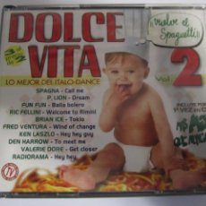 CDs de Música: TRIPLE CD DOLCE VITA VOL 2 LO MEJOR DEL ITALO-DANCE. Lote 210051122
