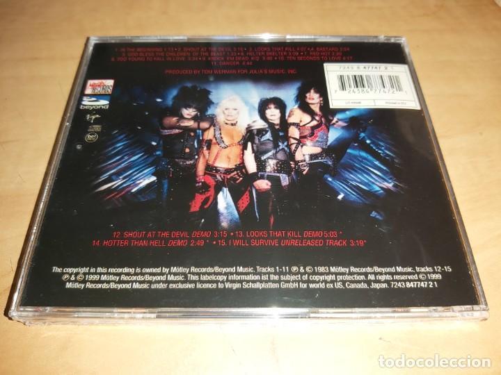 CDs de Música: MOTLEY CRUE CD Crucial Crue Series +4 Bonus-IRON MAIDEN-WASP-STRYPER * NUEVO *(COMPRA MINIMA 15 EUR) - Foto 2 - 210069280