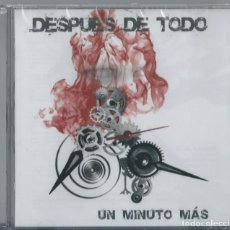 CDs de Música: DESPUES DE TODO CD SPANISH HEAVY 2007-SARATOGA-AMALGAMA-LEGION-ESKUALIDA(COMPRA MINIMA 15 EUROS). Lote 210069375