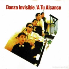 CDs de Música: DANZA INVISIBLE - A TU ALCANCE. CD. Lote 210070737