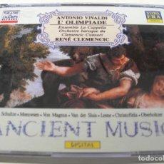 CD de Música: L´OLIMPIADE RENE CLEMENCIC 2 CDS + LIBRETTO. Lote 210111446