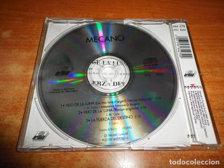 CDs de Música: MECANO Hijo de la luna Dis-moi lune d´argent VERSION EN FRANCES CD SINGLE ALEMANIA RARO ANA TORROJA - Foto 2 - 210143045