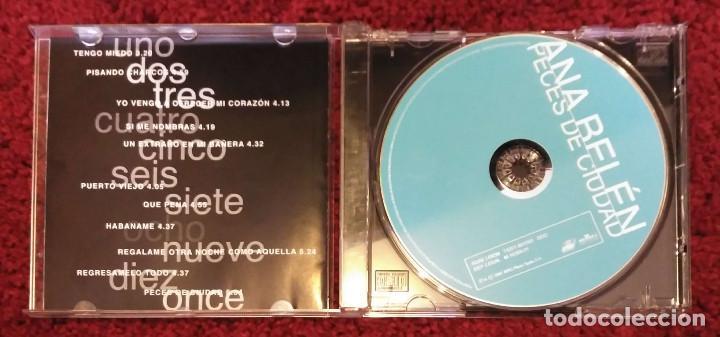 CDs de Música: ANA BELEN (PECES DE CIUDAD) CD 2001 - Foto 3 - 210147461
