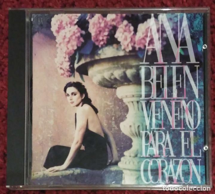 ANA BELEN (VENENO PARA EL CORAZON) CD 1993 (Música - CD's Melódica )
