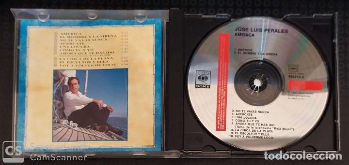 CDs de Música: JOSE LUIS PERALES (AMERICA) CD 1991 - Foto 3 - 210148860