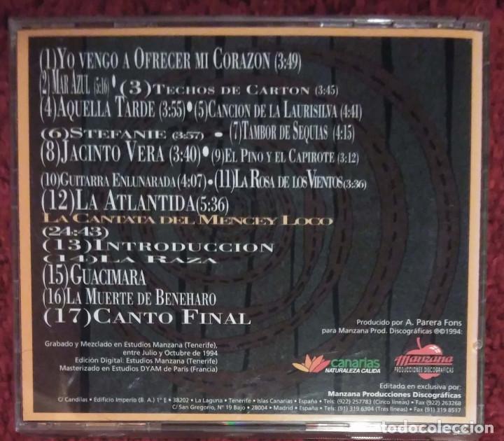 CDs de Música: LOS SABANDEÑOS (ATLANTIDA) CD 1994 - Foto 2 - 210149140