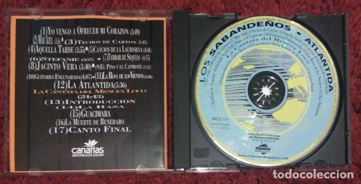 CDs de Música: LOS SABANDEÑOS (ATLANTIDA) CD 1994 - Foto 3 - 210149140