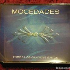 CDs de Música: MOCEDADES (ERES TU - TODOS LOS GRANDES EXITOS) 2 CD'S + DVD 2006. Lote 210149253
