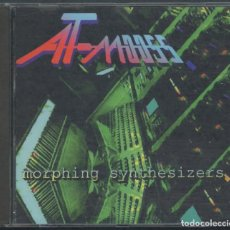 CDs de Música: AT-MOOSS – MORPHING SYNTHESIZERS – CD. Lote 210152945