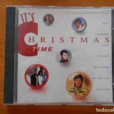 CDs de Música: CD IT'S CHRISTMAS TIME - WHAM!, CLIFF RICHARD, QUEEN, ELTON JOHN, PAUL MCCARTNEY... (5K). Lote 210175426