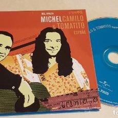 CDs de Música: MICHEL CAMILO & TOMATITO / ESTRELLAS DEL JAZZ 11 / EL PAIS / LIBRETO 60 PÁGINAS / LUJO. Lote 210185103