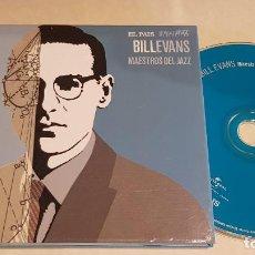 CDs de Música: BILL EVANS / MAESTROS DEL JAZZ / ESTRELLAS DEL JAZZ 14 / EL PAIS / LIBRETO 60 PÁGINAS / LUJO. Lote 210185687