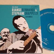 CDs de Música: D. REINHARDT & S. GRAPPELLY / ESTRELLAS DEL JAZZ 12 / EL PAIS / LIB. 60 PÁG./ LUJO. Lote 210186382
