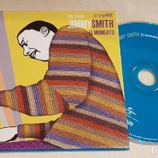 CDs de Música: JIMMY SMITH / EL MOMENTO / ESTRELLAS DEL JAZZ 34 / EL PAIS / LIB. 60 PÁG./ LUJO. Lote 210186546