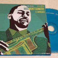 CDs de Música: WES MONTGOMERY / EL MOMENTO / ESTRELLAS DEL JAZZ 31 / EL PAIS / LIB. 60 PÁG./ LUJO. Lote 210186997
