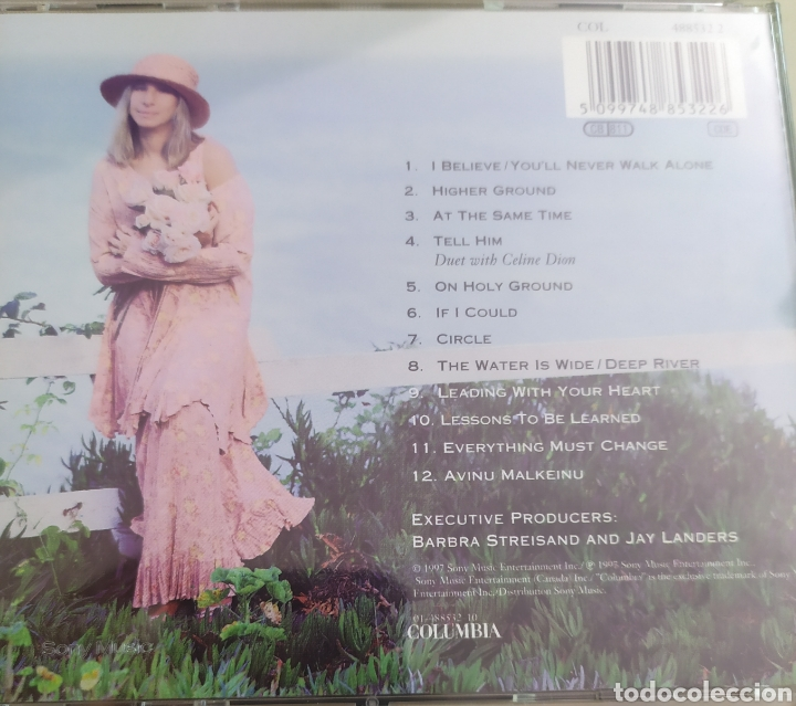 CDs de Música: Barbra Streisand / Higher Ground / cd original - Foto 2 - 210194272