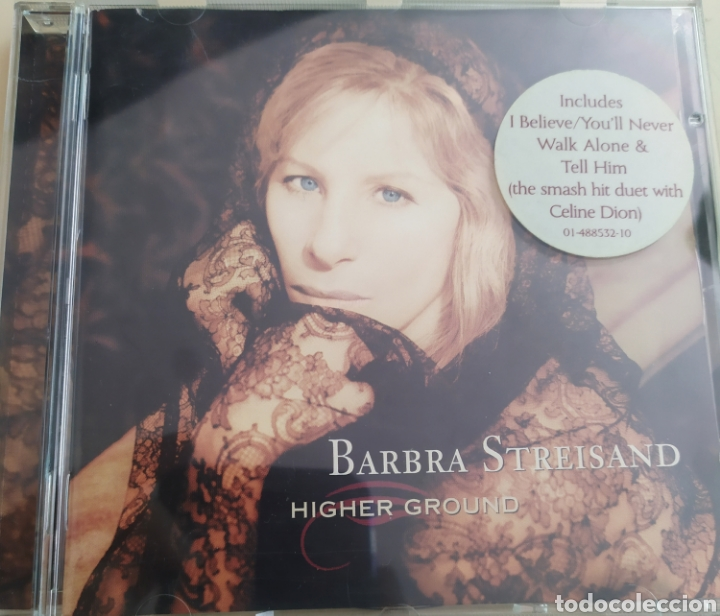 BARBRA STREISAND / HIGHER GROUND / CD ORIGINAL (Música - CD's Melódica )
