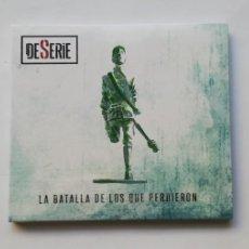 CDs de Música: 0720- LA BATALLA DE LOS QUE PERDIERON- CD NUEVO PRECINTADO LIQUIDACIÓN!. Lote 210219080