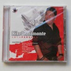 CDs de Música: 0720- KIKE BRACAMONTE AMOR PERUANO - CD NUEVO PRECINTADO LIQUIDACIÓN!N5. Lote 210219376