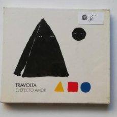 CDs de Música: 0720- TRAVOLTA EL EFECTO AMOR - CD NUEVO PRECINTADO LIQUIDACIÓN!N2. Lote 210219980