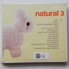 CDs de Música: 0720- NATURAL 3 2CDS - CD NUEVO PRECINTADO LIQUIDACIÓN!. Lote 210225870