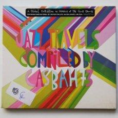 CDs de Música: 0720- JAZZ TRAVELS COMPILED BY CASBAH73 - CD NUEVO PRECINTADO LIQUIDACIÓN!. Lote 210226770