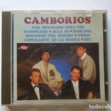 """CDs de Música: CD """"LOS CAMBORIOS """". Lote 210228870"""