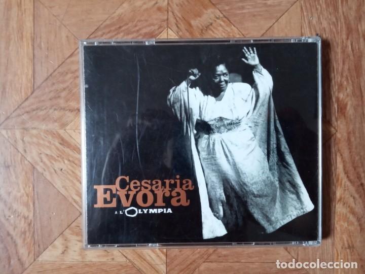 CDs de Música: CESARIA ÉVORA - LIVE À LOLYMPIA - CD 1996 - Foto 2 - 210234885