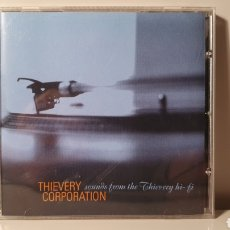CDs de Música: CD/ THIEVWRY CORPOTATION/ SOUNDS FROM THE THIEVERY HI-FI/ MÚSICA ELECTRONICA/ AÑO 1998(REF.A). Lote 210254626