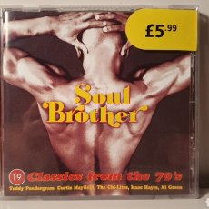 CDs de Música: CD/ SOUL BROTHER/ 19 CLASS FROM THE 70'S/ (REF.A). Lote 210254910
