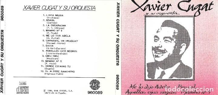 XAVIER CUGAT - Y SU ORQUESTA (Música - CD's World Music)