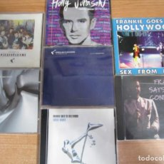 CDs de Música: LOTE 7 CD FRANKIE GOES TO HOLLYWOOD 2 DOBLES. Lote 210278243