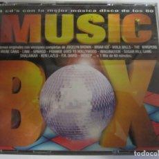 CDs de Música: 4 CD MUSIC BOX LA MEJOR MUSICA DISCO DE LOS 80. Lote 210279323