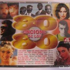CDs de Música: 4 CD CANCIONES DE LOS 80. Lote 210283973