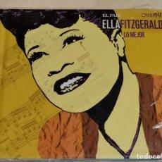 CDs de Música: ELLA FITGERALD / ESTRELLAS DEL JAZZ 16 / EL PAIS / LIB. 60 PÁG./ PRECINTADO.. Lote 210304105
