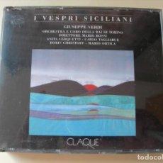 CD de Música: I VESPRI SICILIANI MARIO ROSSI 2 CDS + LIBRETTO. Lote 210316510