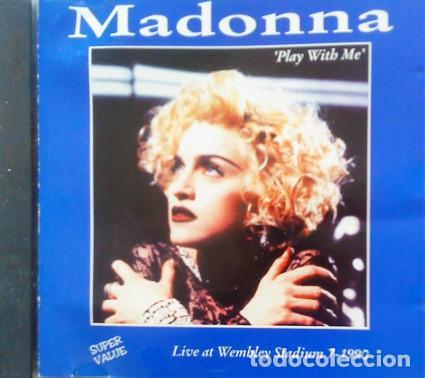 CD MADONNA : PLAY WITH ME - LIVE WE,BLEY 1990 (Música - CD's Pop)